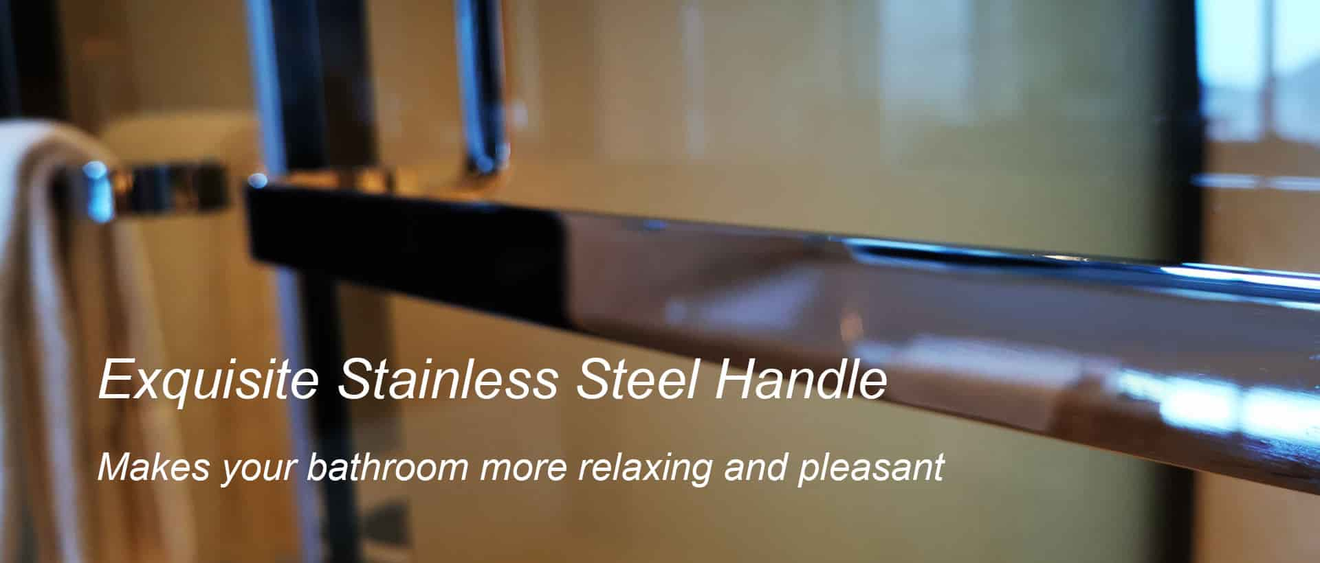 Exquisite Stainless Steel Handle